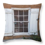 Shutters Throw Pillow