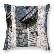 Side-by-side Throw Pillow by Todd Blanchard