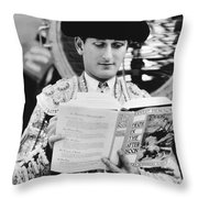 Sidney Franklin (1903-1976) Throw Pillow