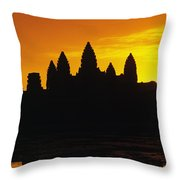 Siem Reap, Angkor Wat Throw Pillow