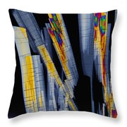 Sildenfil Nitrate, Polarized Lm Throw Pillow