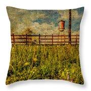 Siluria Cotton Mill Throw Pillow