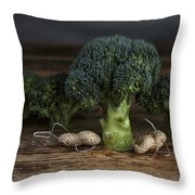 Simple Things - Man And Dog Throw Pillow