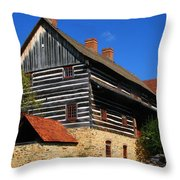 Single Brothers' House Throw Pillow