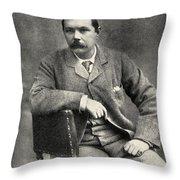 Sir Arthur Conan Doyle, 1859   1930 Throw Pillow