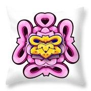 Skate Design Throw Pillow