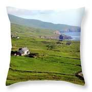 Skellig Ring - Ireland Throw Pillow