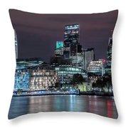 Skyline Of London Throw Pillow