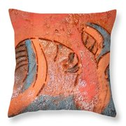 Smiles - Tile Throw Pillow
