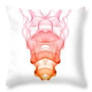 smoke XV Throw Pillow