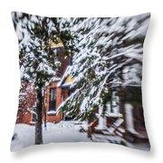 Snow... Throw Pillow