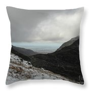 Snowdonia, Wales Throw Pillow