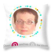 sNOWmelt Throw Pillow