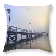 Softly As I Leave You Throw Pillow