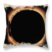 Solar Eclipse 2017 3 Throw Pillow
