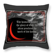 Solar Eclipse Reflections 3 Throw Pillow