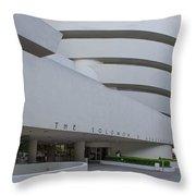 Solomon S Guggenheim Museum Throw Pillow