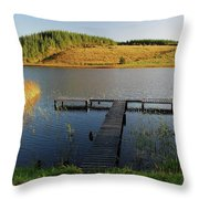 Somewhere In Ireland Throw Pillow