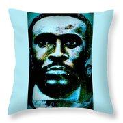 Soul Singer Throw Pillow