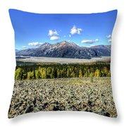 Sourdough Peak Throw Pillow