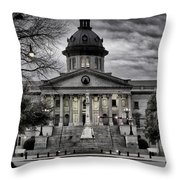 South Carolina State House Throw Pillow