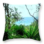 South Shore Bermuda Throw Pillow
