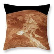 Space: Venus, 1991 Throw Pillow