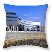 Spallation Neutron Source Throw Pillow