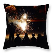 Sparks  Throw Pillow