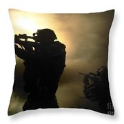 Special Operation Forces Combat Divers Throw Pillow