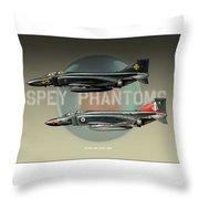 Spey Phantoms Throw Pillow