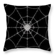 Spider No.2 Throw Pillow