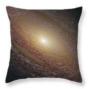 Spiral Galaxy Ngc 2841 Throw Pillow