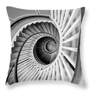 Spiral Staircase Lowndes Grove Throw Pillow