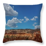 Spires Of Bryce Canyon Throw Pillow