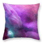 Nebula Dreamscape Throw Pillow