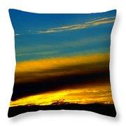 Spokane Sunrise Throw Pillow
