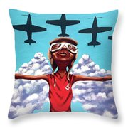 Spread Your Wings Throw Pillow