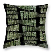 Spring Awakenings Throw Pillow