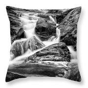 Spring Cascades #1 Throw Pillow