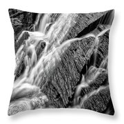 Spring Cascades #3 Throw Pillow
