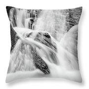 Spring Cascades #7 Throw Pillow