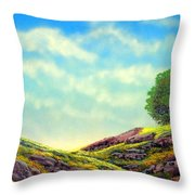 Spring Day Throw Pillow