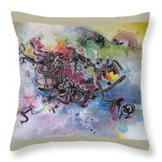 Spring Fever8 Throw Pillow