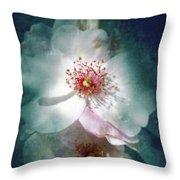 Spring Flowering Throw Pillow
