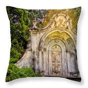 Spring Grove Mausoleum Throw Pillow