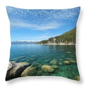 Spring Waters Throw Pillow