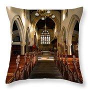 St Andrews Church, Aysgarth Throw Pillow