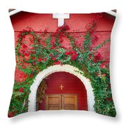 St. Anthony's Church Throw Pillow