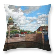 St. Isaac's Square Throw Pillow